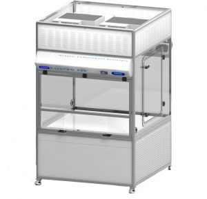 Baker Introduces a Modular, Aseptic, Biocontainment, Robotics Enclosure