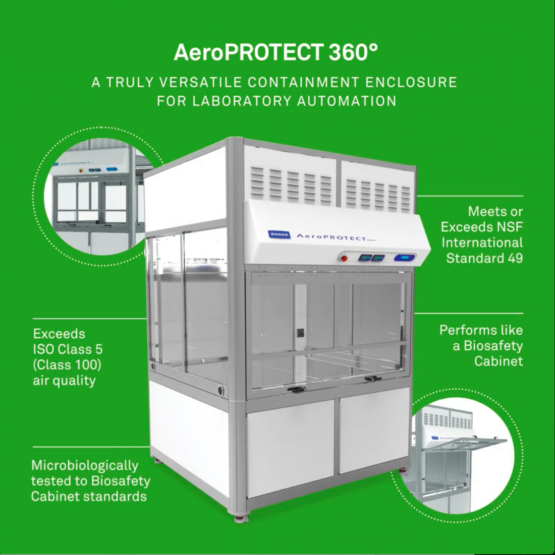 Lab Automation & AeroPROTECT<sup>®</sup>